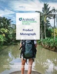 Arakoda Tafenoquine Monograph